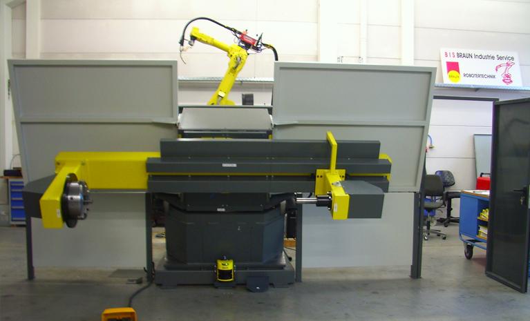 Roboter Schweißzelle MAG